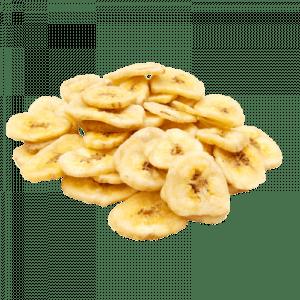 Fruits secs au CBD saveur banane