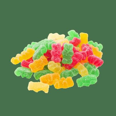 Bonbon ourson acidulé
